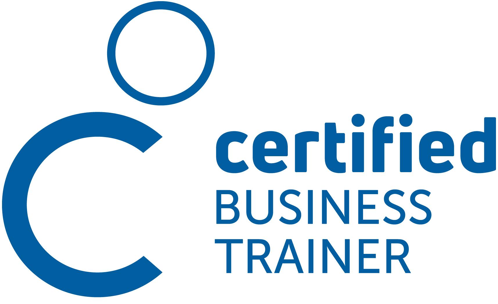 Produktlogo Zertifizierung Certified Business Trainer