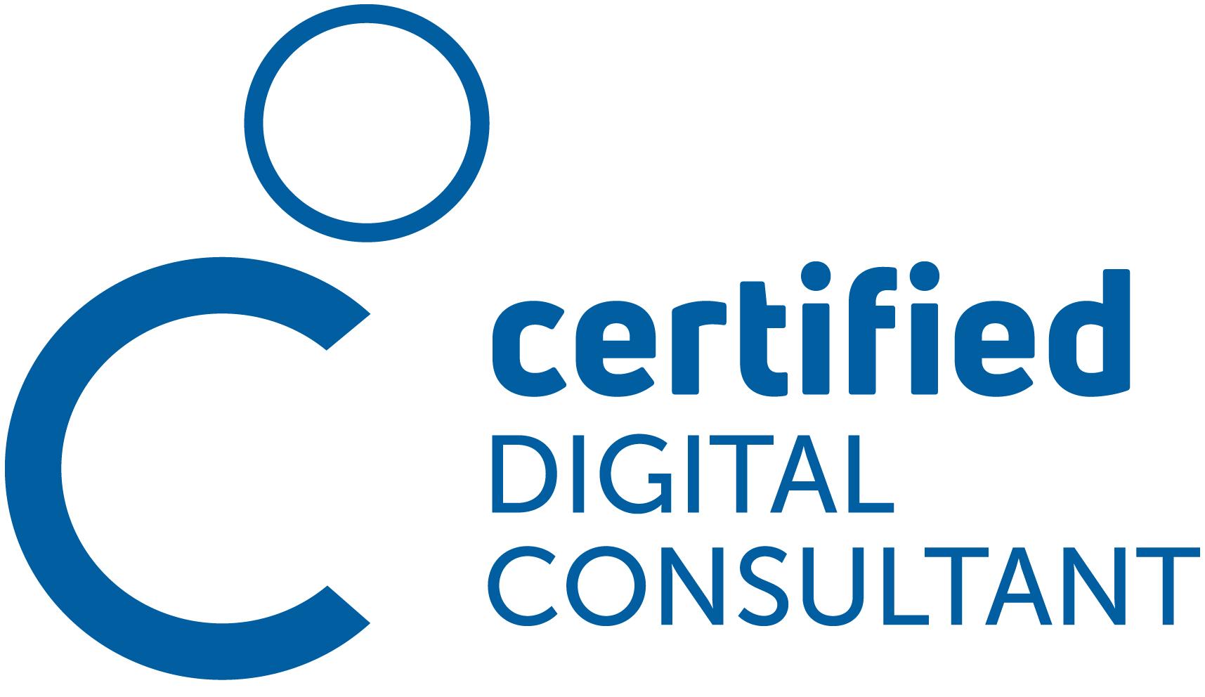 Logo Zertifizierung Certified Digital Consultant
