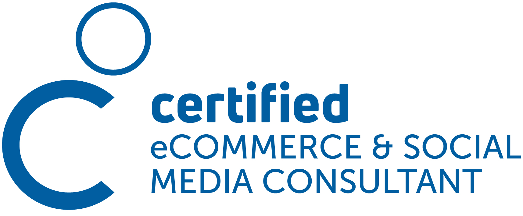 Logo Zertifizierung Certified eCommerce & Social Media Consultant