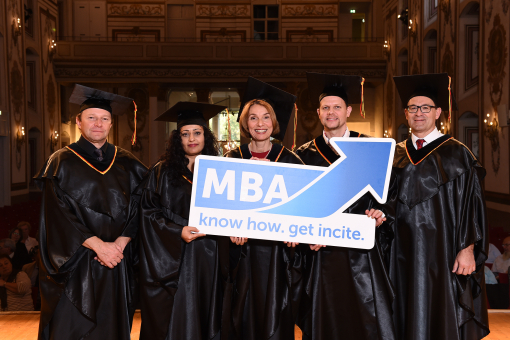 MBA-Titelverleihung in Eisenstadt