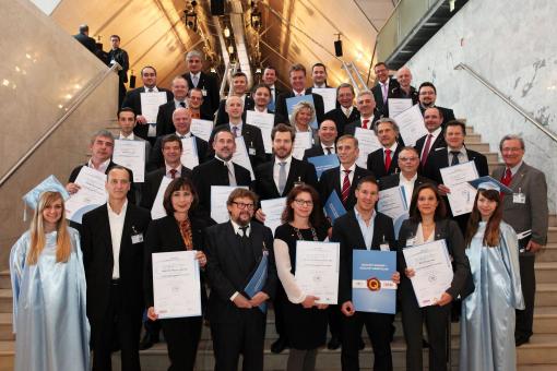 CMC-Zertifikatsverleihung im festlichen Rahmen des 11. Österreichischen IT- und Beratertag