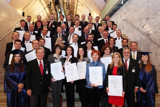 CMC-Zertifikatsverleihung im festlichen Rahmen des 10. Österreichischen IT- und Beratertag