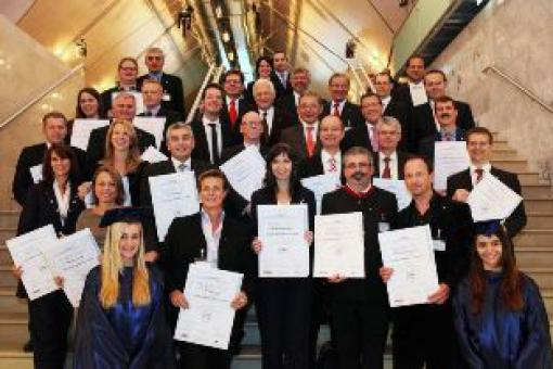 Feierliche CMC-Zertifikatsverleihung beim 9. Österreichischen IT- und Beratertag